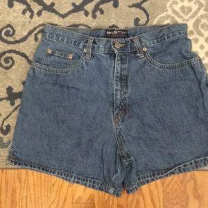 Halston high waist shorts